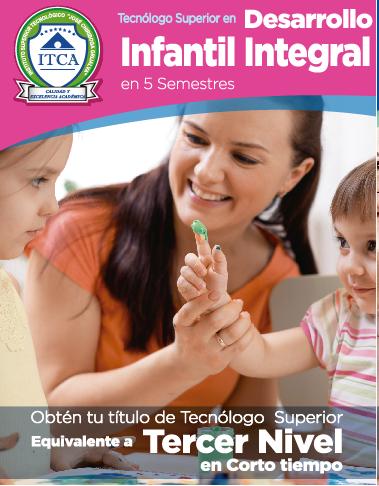 Tecnólogo Superior en Desarrollo Infantil Integral