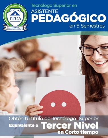 Tecnólogo Superior en Asistente Pedagógico