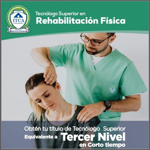 Tecnólogo Superior en Rehabilitación Física
