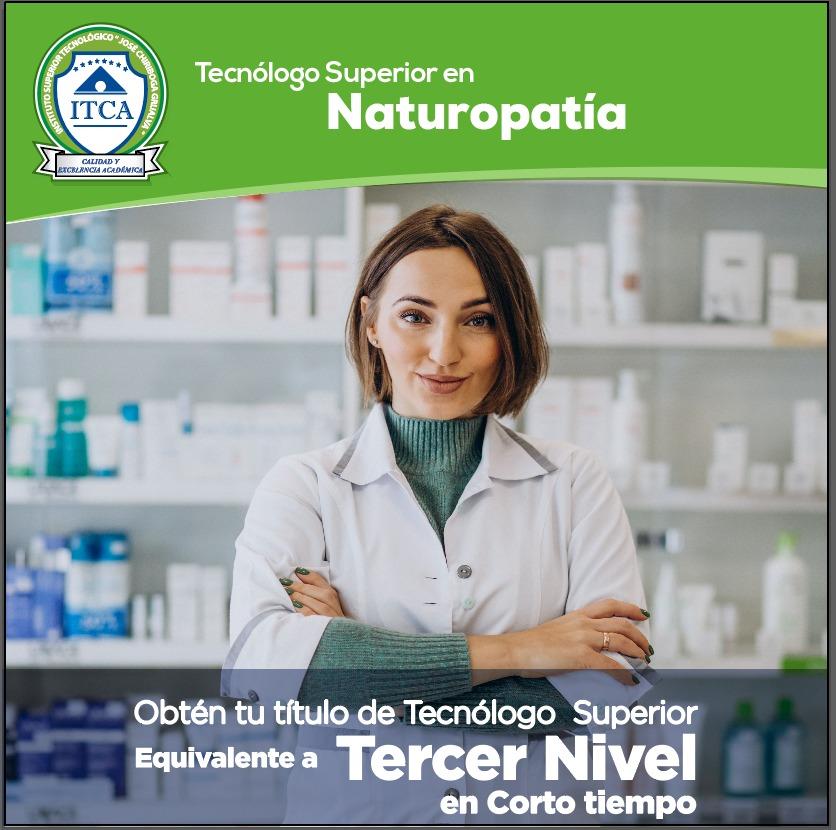 Tecnólogo Superior en Naturopatía